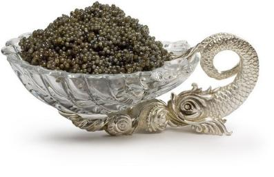 For sturgeon caviar
